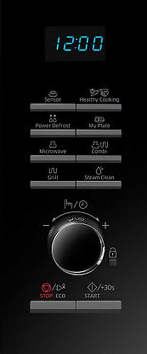 Samsung MG23H3125TK pulsanti e manopola